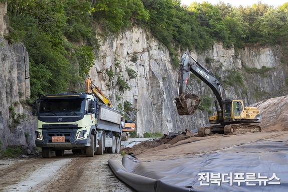 익산시 불법 폐기물 이적 '행정대집행' 본격화